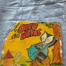 Discos de vinilo: VINILO SINGLE EL GATO CON BOTAS. Lote 275789708