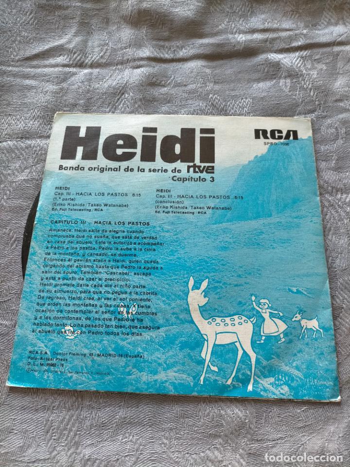 Discos de vinilo: Vinilo single los heidi banda sonora original bso rtve capitulo 3 - Foto 2 - 275790193