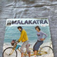 Discos de vinilo: VINILO SINGLE MALAKATRA - CUANDO EL VIENTO SOPLA LOS AMAYA. Lote 275790528