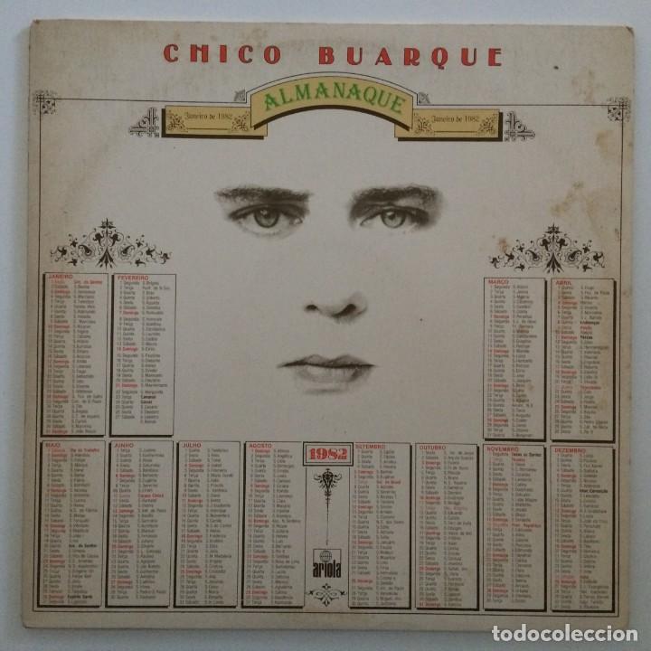 CHICO BUARQUE – ALMANAQUE BRASIL,1981 ARIOLA (Música - Discos - LP Vinilo - Grupos y Solistas de latinoamérica)