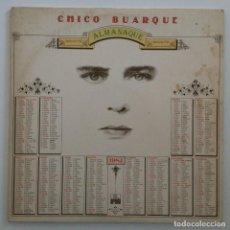 Discos de vinilo: CHICO BUARQUE – ALMANAQUE BRASIL,1981 ARIOLA. Lote 275795978
