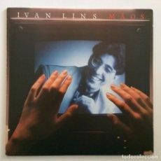 Discos de vinilo: IVAN LINS – MÃOS BRASIL,1987 PHILIPS. Lote 275796928