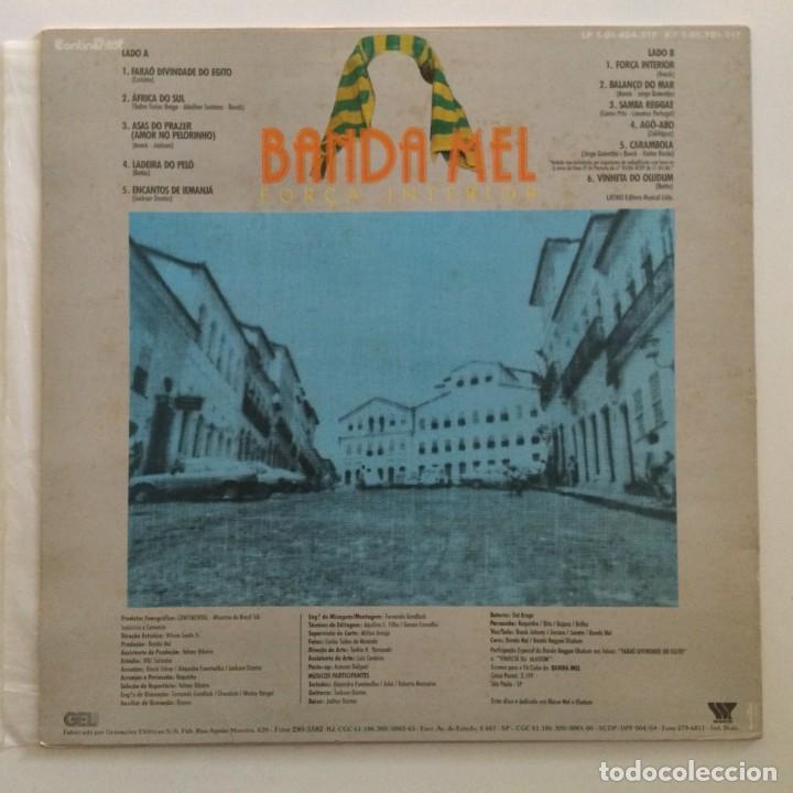 Discos de vinilo: Banda Mel – Força Interior Brasil,1987 Continental - Foto 2 - 275797028