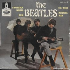Discos de vinilo: THE BEATLES PAPERBACK WRITER EMI ODEON 1966 EDICION FRANCESA. Lote 275840173