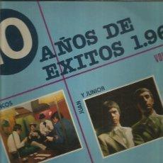 Discos de vinilo: 10 AÑOS DE EXITOS 1968 VOL II. Lote 275861603