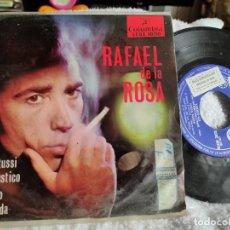 Discos de vinilo: RAFAEL DE LA ROSA EP LOS WATUSI PROMOCIONAL. Lote 275882198