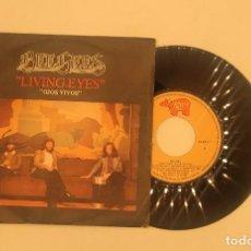 """Discos de vinilo: VINILO DE 7 PULGADAS DE BEEGEES QUE CONTIENE """"LIVING EYES"""" Y """"I STILL LOVE YOY"""". DISCOGRÁFICA: RSO.. Lote 275888333"""