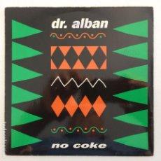 Discos de vinil: DR. ALBAN – NO COKE / NO COKE (INSTR.) SWEDEN,1990 SWEMIX RECORDS. Lote 275892953