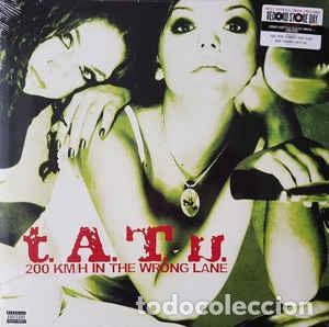 T.A.T.U. - 200 KM/H IN THE WRONG LANE - LP - AÑO 2021 - RSD (Música - Discos - LP Vinilo - Pop - Rock Internacional de los 90 a la actualidad)