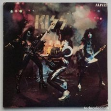 Discos de vinilo: KISS – ALIVE! 2 VINYLS JAPAN,1975 CASABLANCA. Lote 275923888