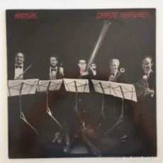 Discos de vinilo: KANSAS – DRASTIC MEASURES HOLANDA,1983 KIRSHEN. Lote 275926303