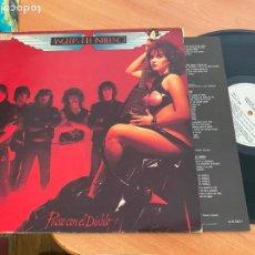 Discos de vinilo: ANGELES INFIERNO (PACTO CON EL DIABLO) LP 1984 ESPAÑA PROMO (B-31). Lote 275957398