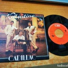Discos de vinilo: CADILLAC VALENTINO EUROVISION 86 / TAHITI SINGLE VINILO DEL AÑO 1986 CONTIENE 2 TEMAS. Lote 275958783
