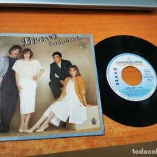 Discos de vinil: BRAVO LADY LADY EUROVISION 1984 / DIME POR QUE SINGLE VINILO ESPAÑA CONTIENE 2 TEMAS. Lote 275959268