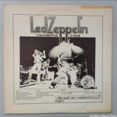 """Discos de vinilo: LED ZEPPELIN """"73 TOUR LIVE IN SEATTLE"""" 2LP. Lote 275985173"""