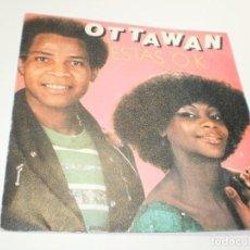 Discos de vinilo: SINGLE OTTAWAN. ESTÁS OK. HELLO RÍO. CARRERE 1980 SPAIN (PROBADO, BIEN, SEMINUEVO). Lote 275986188