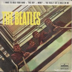Discos de vinilo: THE BEATLES I WANT TO HOLD YOUR HAND ODEON 1964. Lote 275988803
