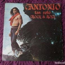 "Disques de vinyle: ANTONIO FLORES – TAN SOLO ROCK & ROLL ,VINYL 7"" SINGLE 1982 SPAIN EPC A-2369 PROMO. Lote 275996538"