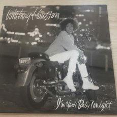 Discos de vinilo: WHITNEY HOUSTON I'M YOUR BABY TONIGHT LP DISCO VINILO. Lote 275998533
