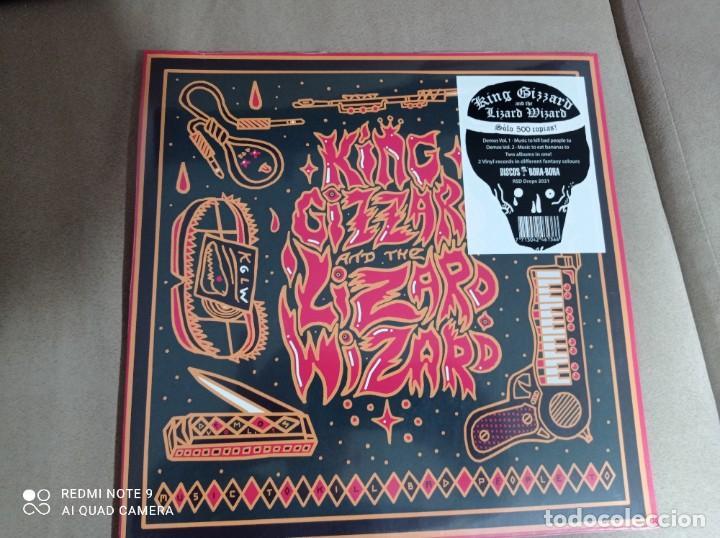 KING GIZZARD & THE LIZARD WIZARD* – DEMOS VOL 1+2 DOBLE VINILO COLOR RSD 2021 (Música - Discos - LP Vinilo - Pop - Rock Internacional de los 90 a la actualidad)
