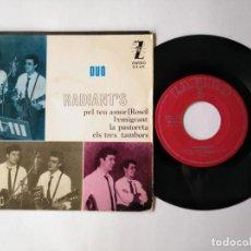 Discos de vinilo: DUO RADIANT'S - EP - PEL TEU AMOR + 3 - ZAFIRO Z-E 671 - (1965) VER CANCIONES QUE CONTIENE. Lote 276014233