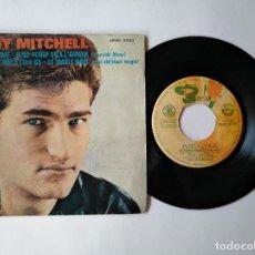 Discos de vinilo: EDDY MITCHELL - EP - QUI JE T'AIME + 3 - BARCLAY SBGE 83101 (1963) VER CANCIONES QUE CONTIENE. Lote 276015043