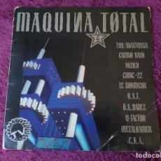 Disques de vinyle: MAQUINA TOTAL 2 ,VINYL LP 1991 SPAIN NM510LETV. Lote 276019883
