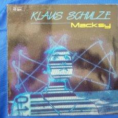 Discos de vinilo: KLAUS SCHULZE.MASKY.RAREZA.MAXI.VINILOMTANGERINE DREAM. Lote 276022978