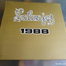 Disques de vinyle: SALVAJES, LOS - 1988 -, LP, VIENTOS DE LIBERTAD + 8, AÑO 1988. Lote 276027313