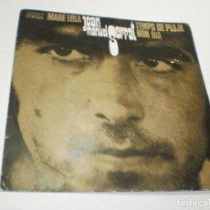 Discos de vinilo: SINGLE JOAN MANUEL SERRAT. MARE LOLA. TEMPS DE PLUJA. BON DIA. EDIGSA 1969 (PROVAT, BÉ, BON ESTAT). Lote 276029113