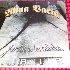 Discos de vinilo: ALMA VACIA JARDIN DE LOS CALLADOS 1998 SPAIN LP. Lote 276029623