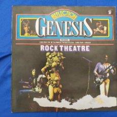 Discos de vinilo: GENESIS.ROCK THEATRE.VINILO.LIVE. Lote 276030858