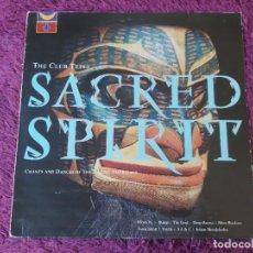"Discos de vinilo: SACRED SPIRIT – THE CLUB TEPEE , 2 X VINYL 12"", 1991 UK TPEE1 PROMO. Lote 276037898"