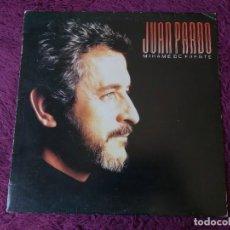 Discos de vinil: JUAN PARDO – MÍRAME DE FRENTE ,VINYL LP 1987 SPAIN 590 748750 1. Lote 276042588