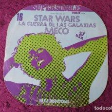 """Dischi in vinile: MECO – MUSICA INSPIRADA EN """"STAR WARS"""" ,VINYL MAXI-SINGLE 1977 SPAIN PC-9169. Lote 276044953"""