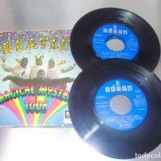Discos de vinilo: THE BEATLES -- MAGICAL MISTERY TOUR + LIBRO --- AÑO 1967 ---- VINILO / FUNDA EX. Lote 276045833