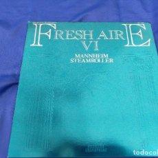 Discos de vinilo: MANNHEIM STEAMROLLER.FRESH AIRE VI.LP.VANGELIS. Lote 276046063