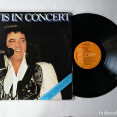 Discos de vinilo: ELVIS PRESLEY - LP DOBLE - ELVIS IN CONCERT - RCA 56580 - (1978) - VER FOTOS Y DESCRIPCION. Lote 276047938