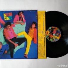 Discos de vinilo: THE ROLLING STONES - LP - DIRTY WORK - ROLLING STONES RECORDS - CBS (1986) - VER FOTOS Y DESCRIPCION. Lote 276049393