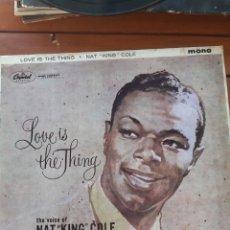 Discos de vinilo: NAT KING COLE. PERFECTO. UNA AUTÉNTICA JOYA. Lote 276056623