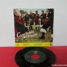 Discos de vinilo: CANCIONES DE ORENSE VOL.3 - CORAL DE RUADA - FOLIADA DE MARN + 5 -EP- MANUEL DE DIOS MARTINEZ. Lote 276057158