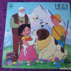 Disques de vinyle: HEIDI (HISTORIA COMPLETA) VINYL LP 1975 SPAIN GATEFOLD S 81141. Lote 276058193