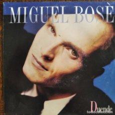 Discos de vinilo: MIGUEL BOSE - DUENDE/ THE EIGHTH WONDER - SINGLE 1988. Lote 276063393