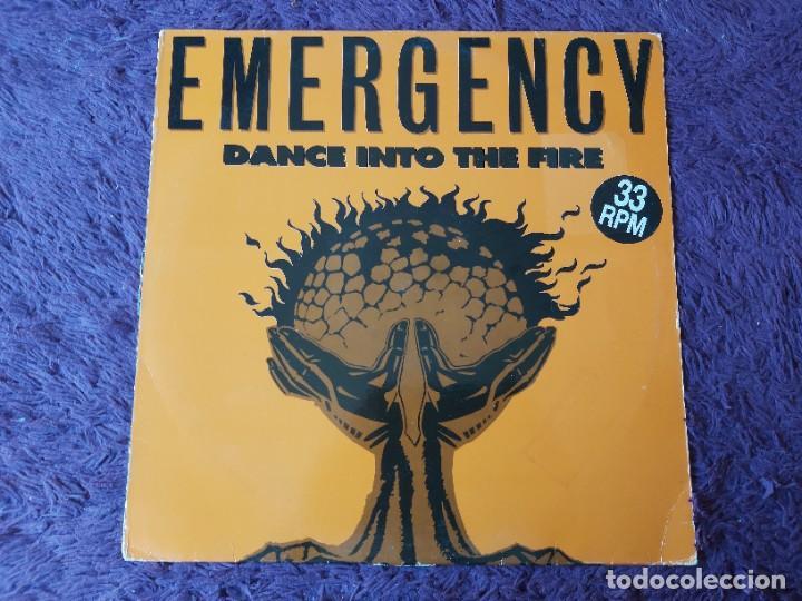 """EMERGENCY – DANCE INTO THE FIRE ,VINYL 12"""", 1994 SPAIN BOY-236 (Música - Discos de Vinilo - Maxi Singles - Electrónica, Avantgarde y Experimental)"""