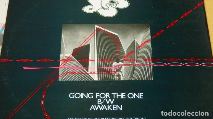 Discos de vinilo: YES * Going For The One / Awaken * MAXI Vinilo * 1977 UK * SPECIAL LIMITED EDITION - Foto 4 - 276074938