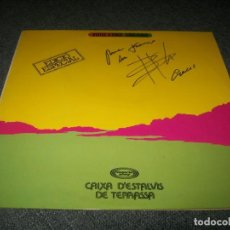 Discos de vinilo: LLUIS LLACH – VIATGE A ITACA - LP DE 1976 - EDICION ESPECIAL - FIRMADO Y DEDICADO - BUEN ESTADO. Lote 276076698