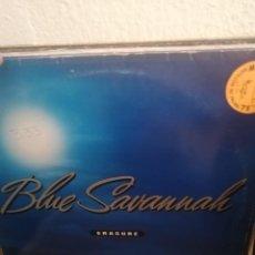 Discos de vinil: ERASURE - BLUE SAVANNAH - MAXI UK - MUTE. Lote 276080958