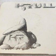 Dischi in vinile: SINGLE PROMOCIONAL KRULL - HASTA EL LIMITE - DISCAN D080 - PEDIDO MINIMO 7€. Lote 276082583