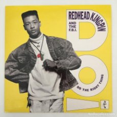 Discos de vinilo: REDHEAD KINGPIN AND THE F.B.I. – DO THE RIGHT THING, UK 1989 10 RECORDS. Lote 276085083