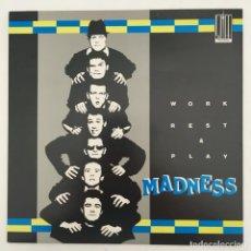 Discos de vinilo: MADNESS – WORK REST & PLAY, UK 1980 STIFF RECORDS. Lote 276085403